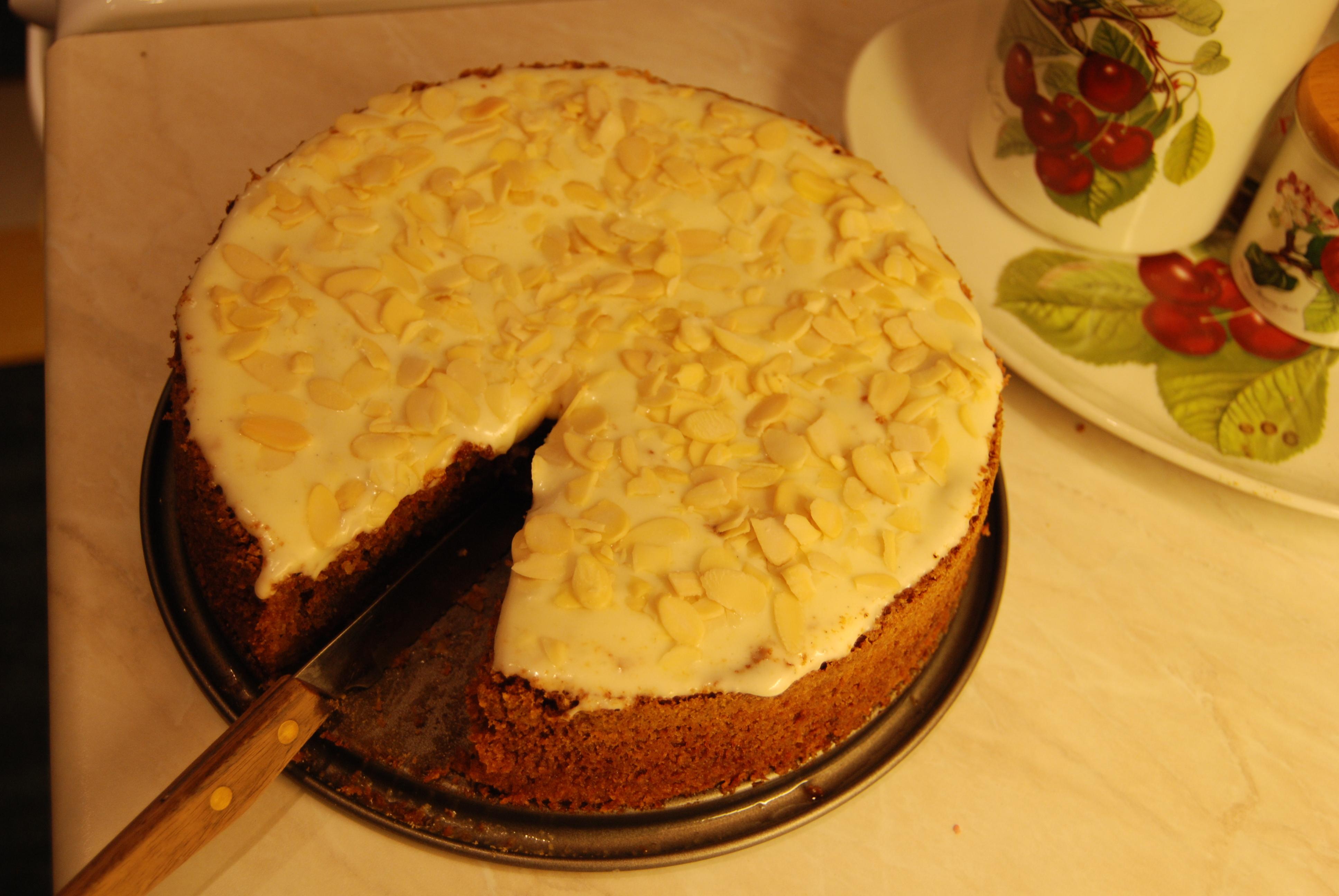 gluten och laktosfri kaka