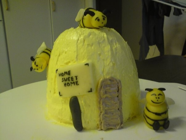 Bikupe- tårta