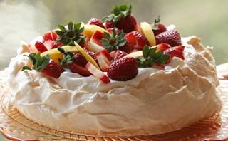 Pavlova Tårta