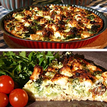 broccoli feta paj