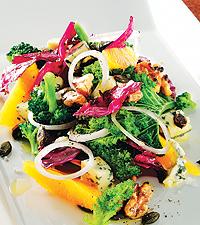 grönkåls sallad