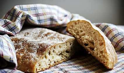 bröd hård skorpa