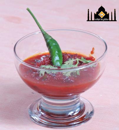 Roohafza chili sås