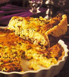 Quiche lorraine (fransk ostpaj)