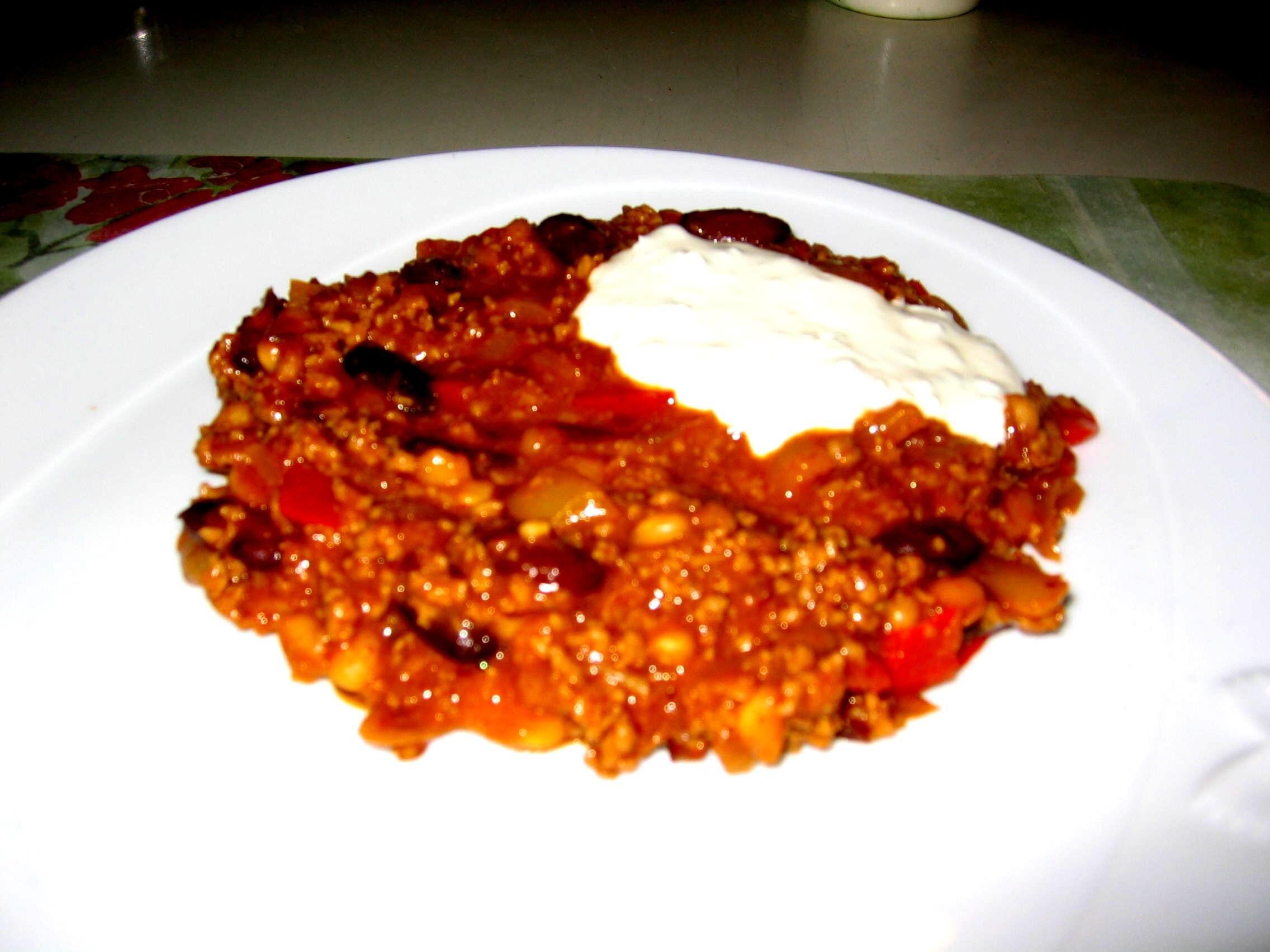mild chili con carne