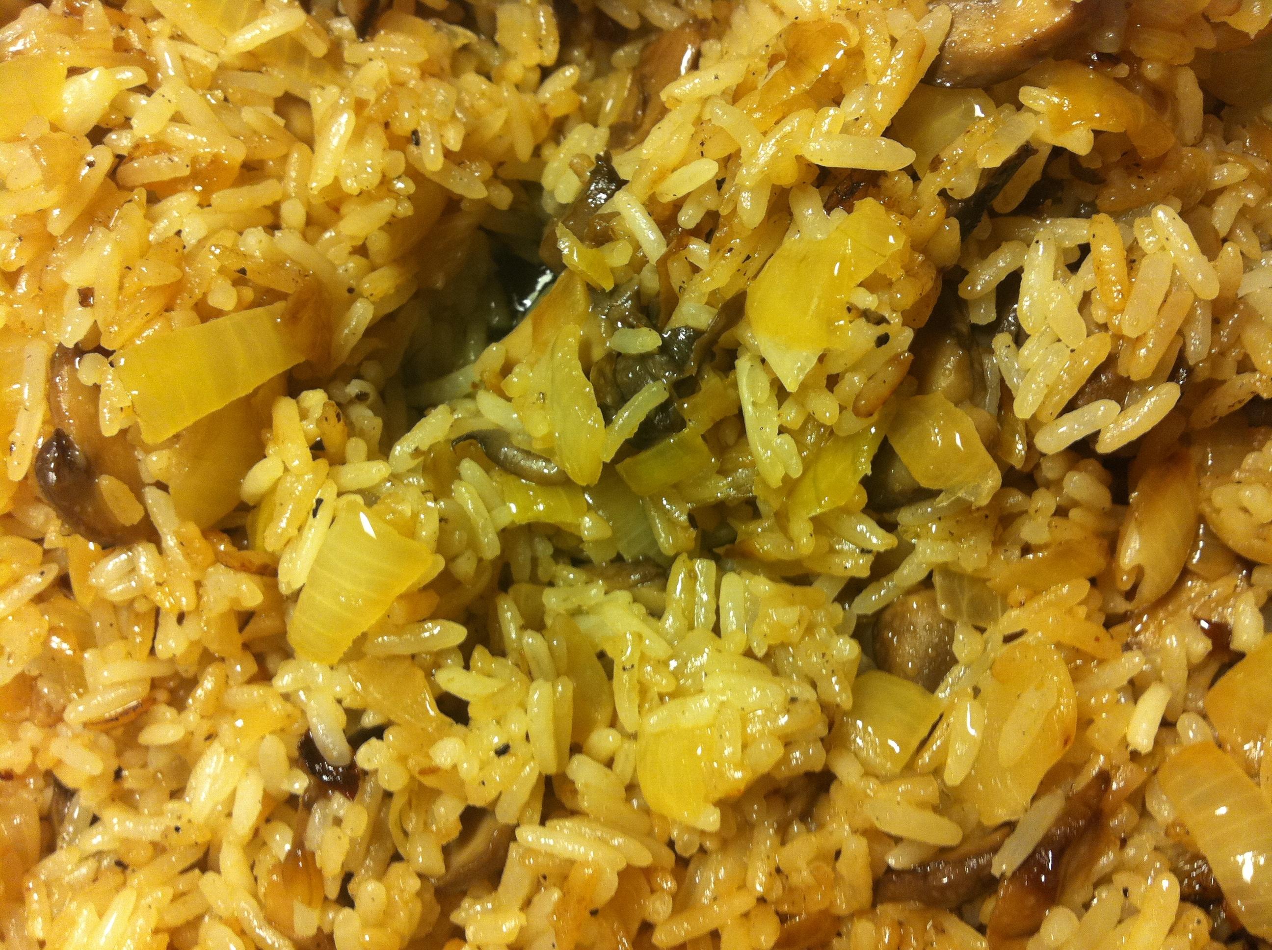 Nojjans goda stekta ris.