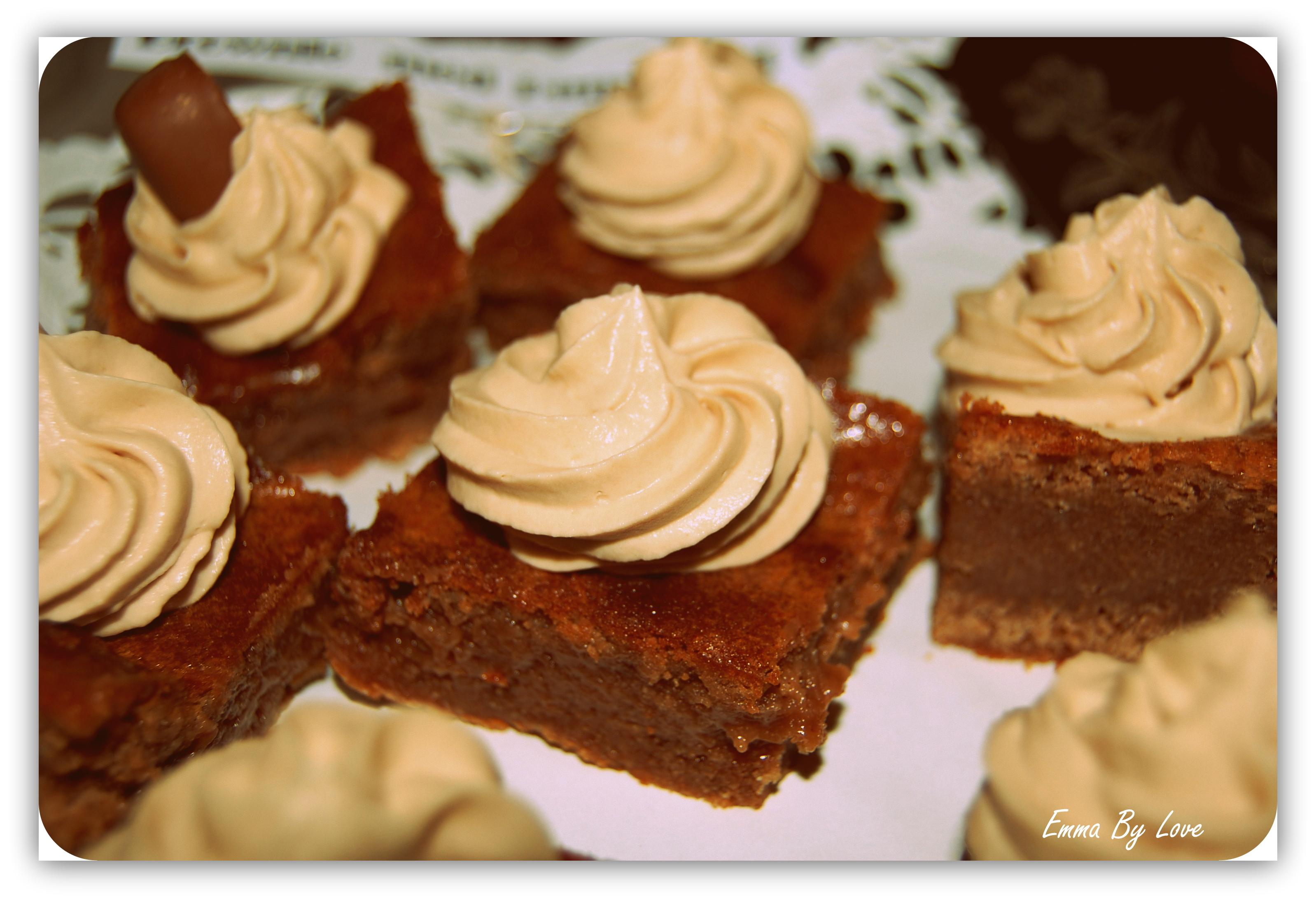 Brownie med dum..
