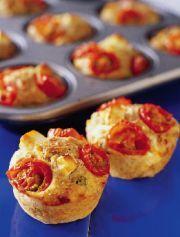 Salami- och fetaostmuffins