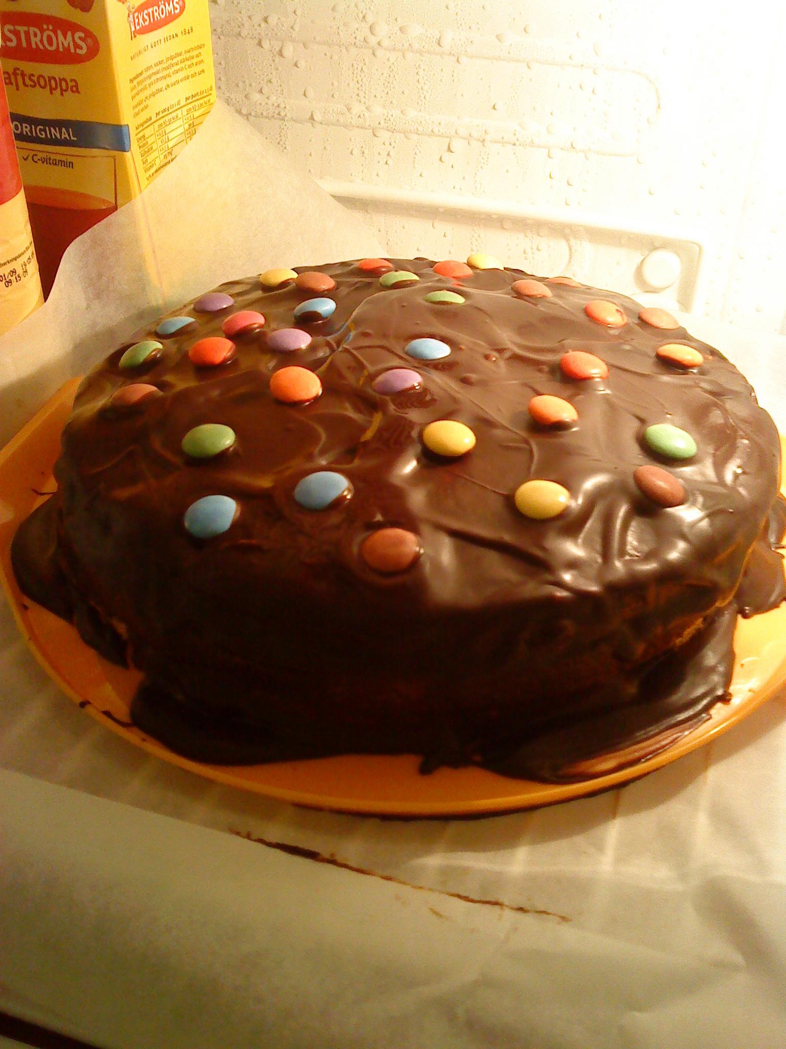 karamell tårta