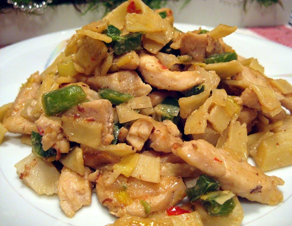 Indonesisk kycklingpasta (Viktväktare)