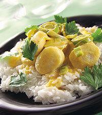 Fiskbullar i curry