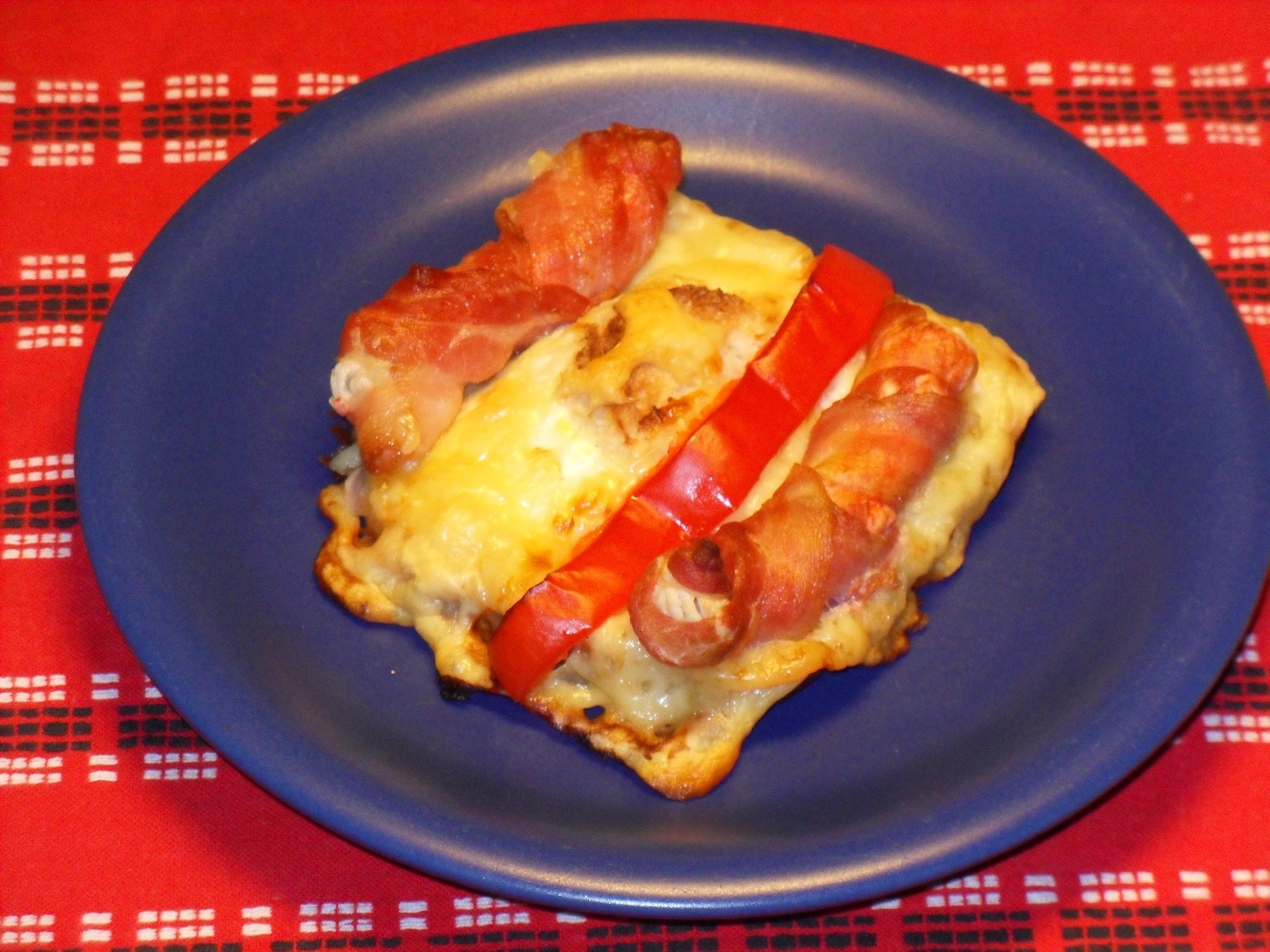 baconrullar med ost