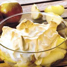 Äpplen under maräng - diabetes