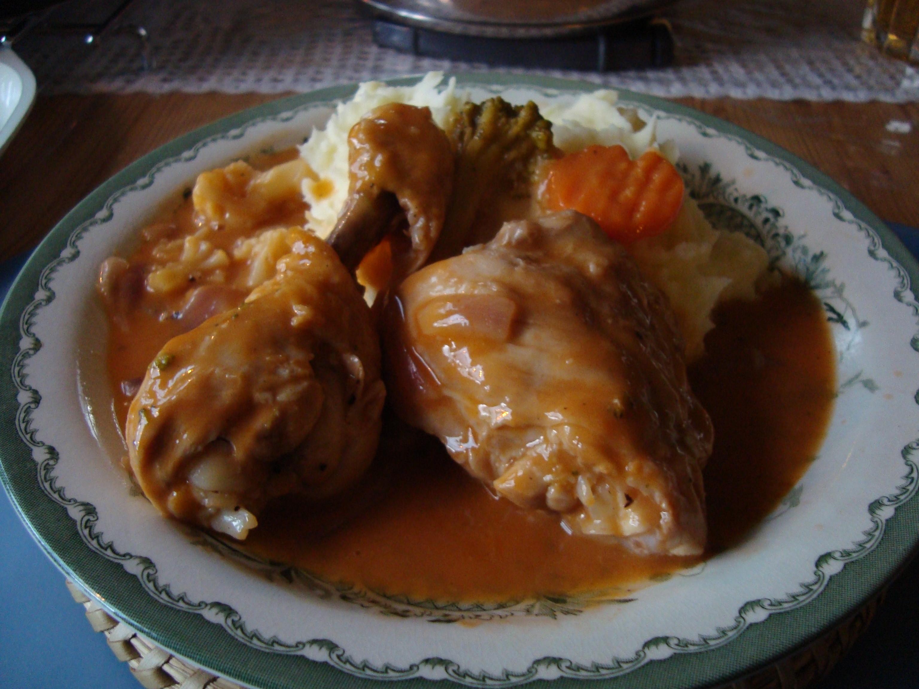 Mustig kyckling..