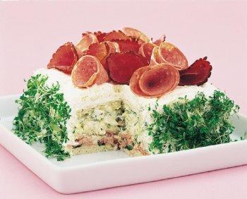 kalastårta smörgåstårta