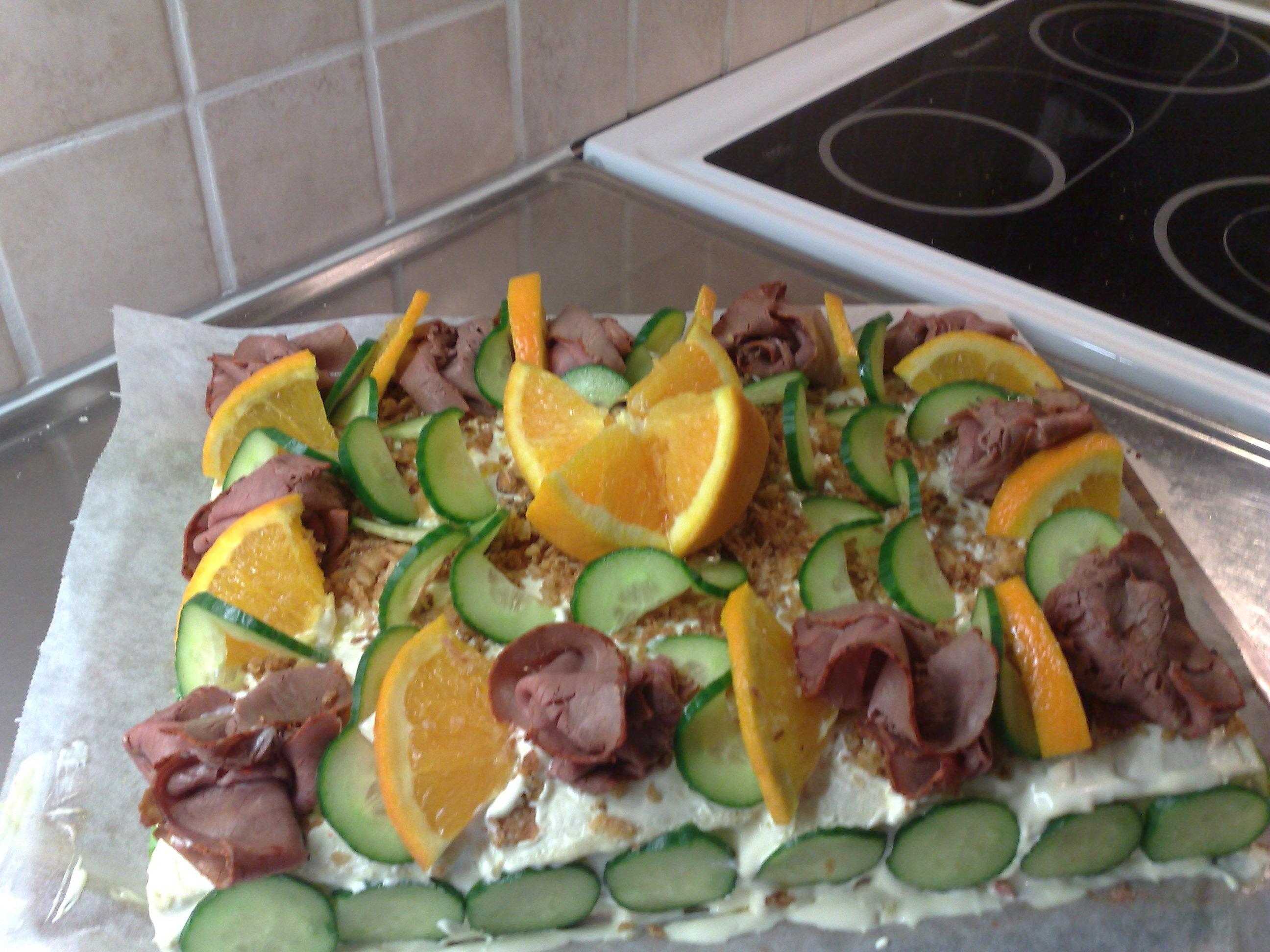 rostbiffstårta