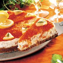 Cheesecake med rökt lax