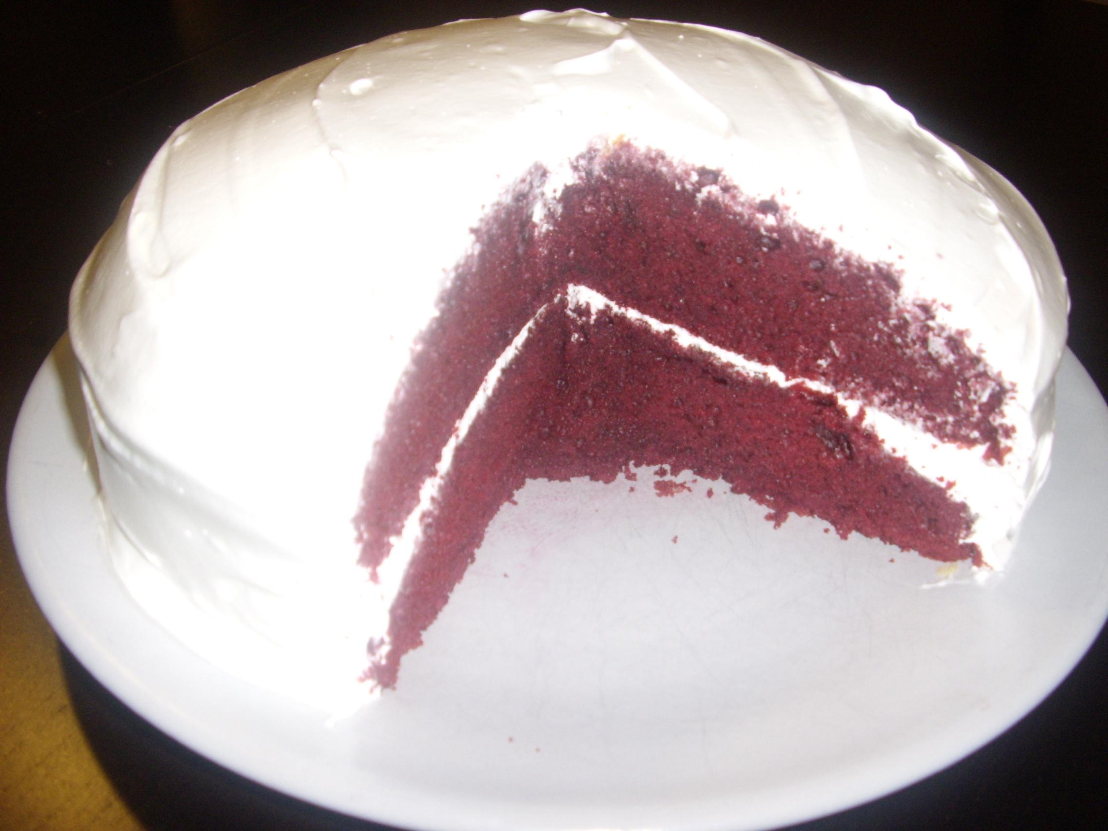 Red Velvet tårta ll
