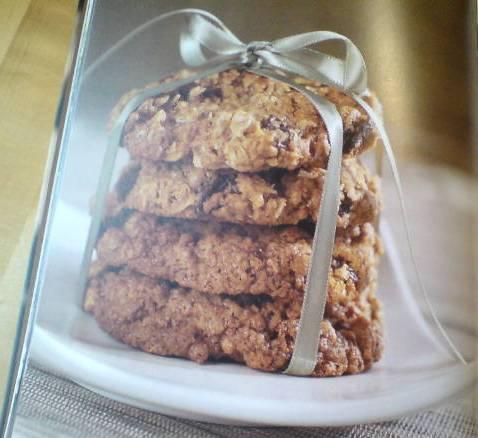 Havrekakor med chokladbitar