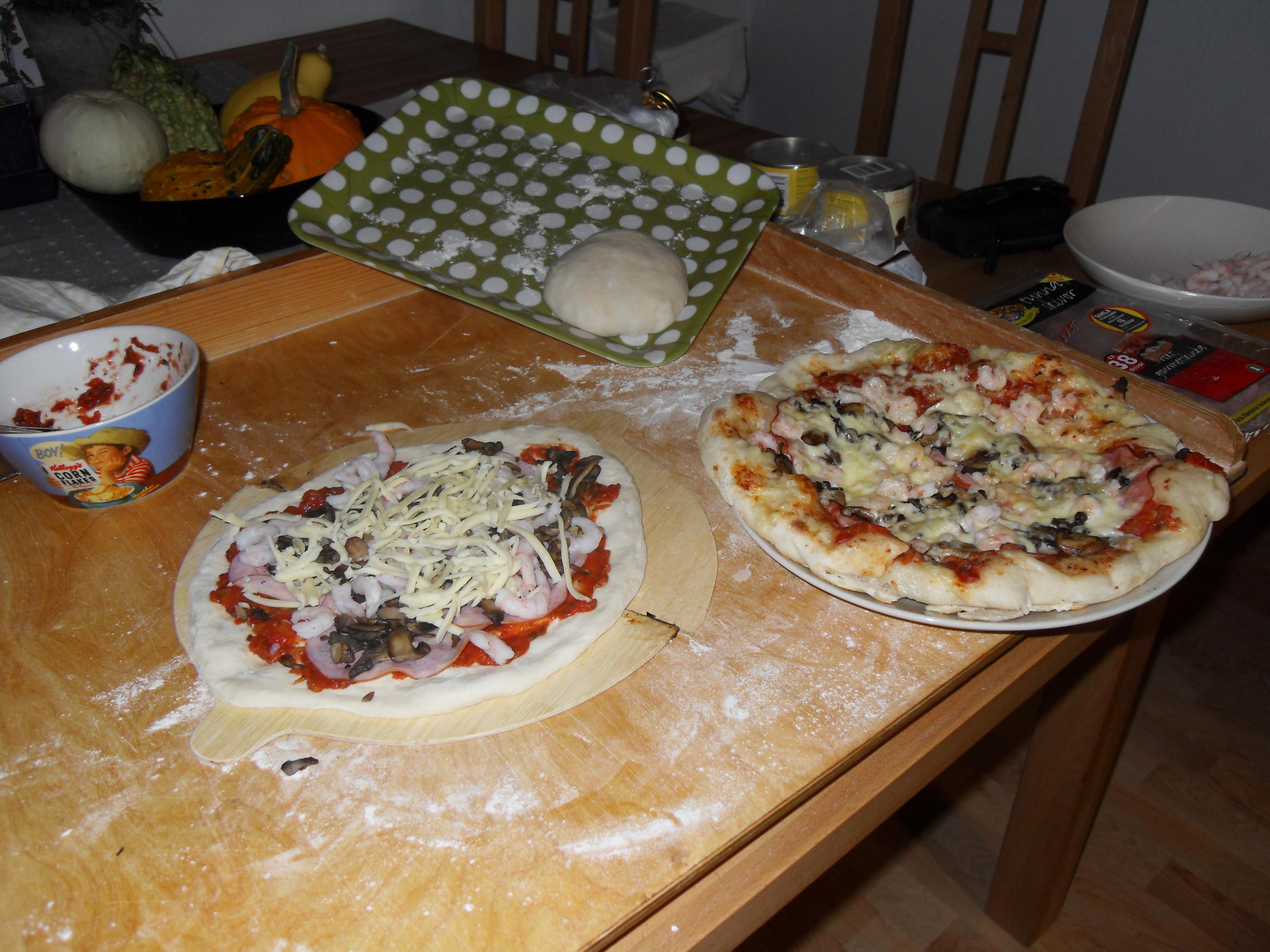 pizzadeg  från