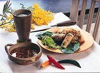 Kryddiga vietnamesiska vårrullar