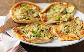 pizza zucchini botten