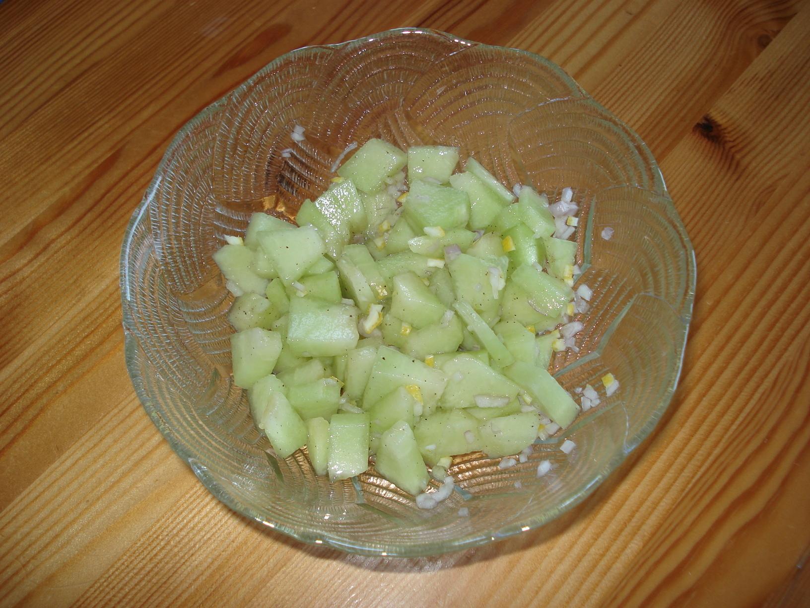 melonsalsa grillat