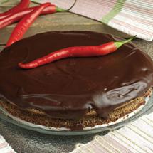 Chokladkaka med chilitryffel