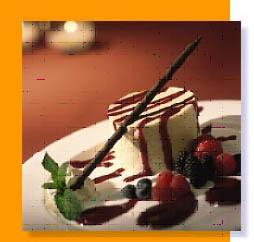 Vit Chokladmousse med getost och jordgubbar