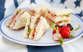 sandwich trekant