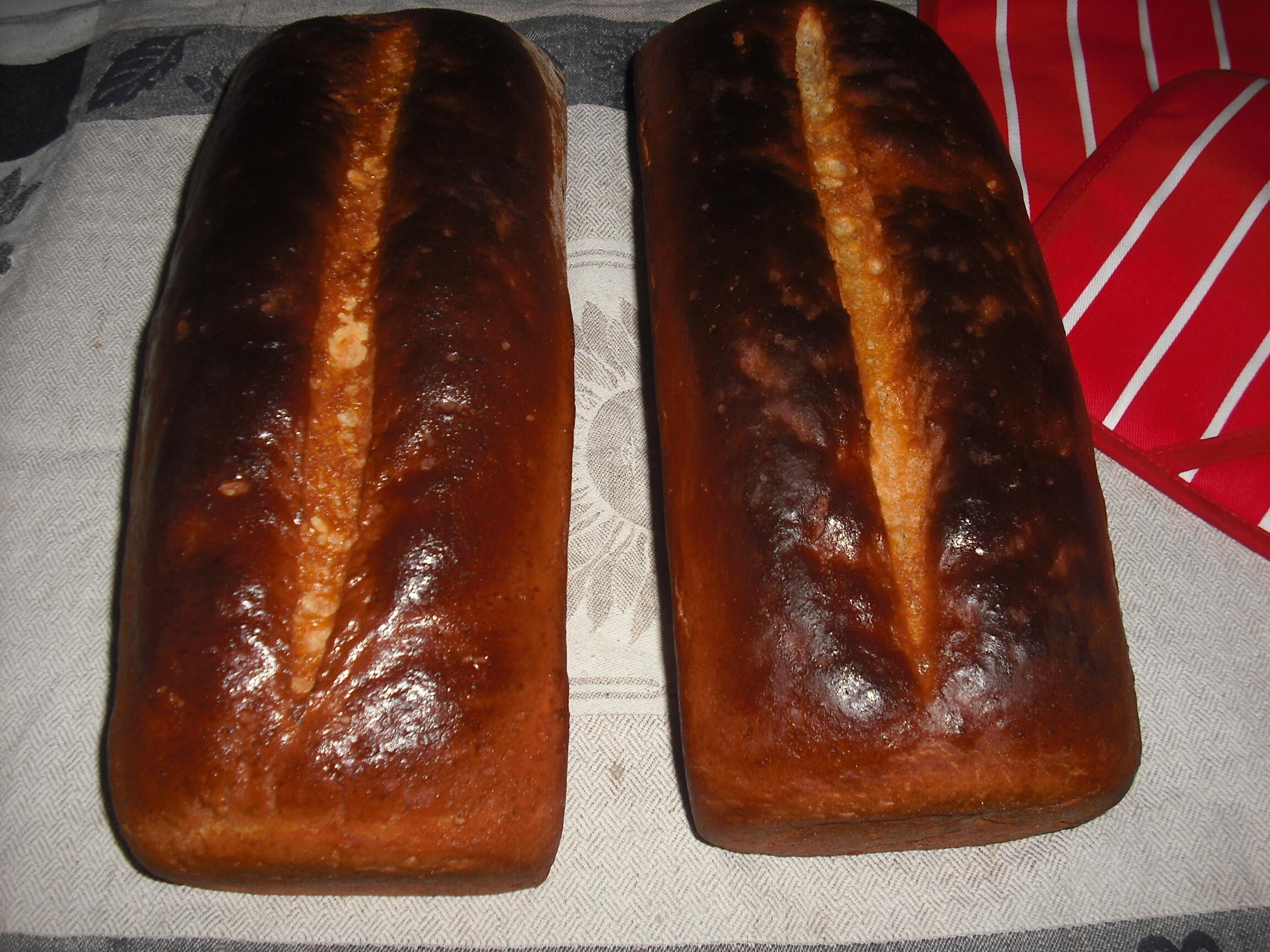 skorpor på gammalt bröd