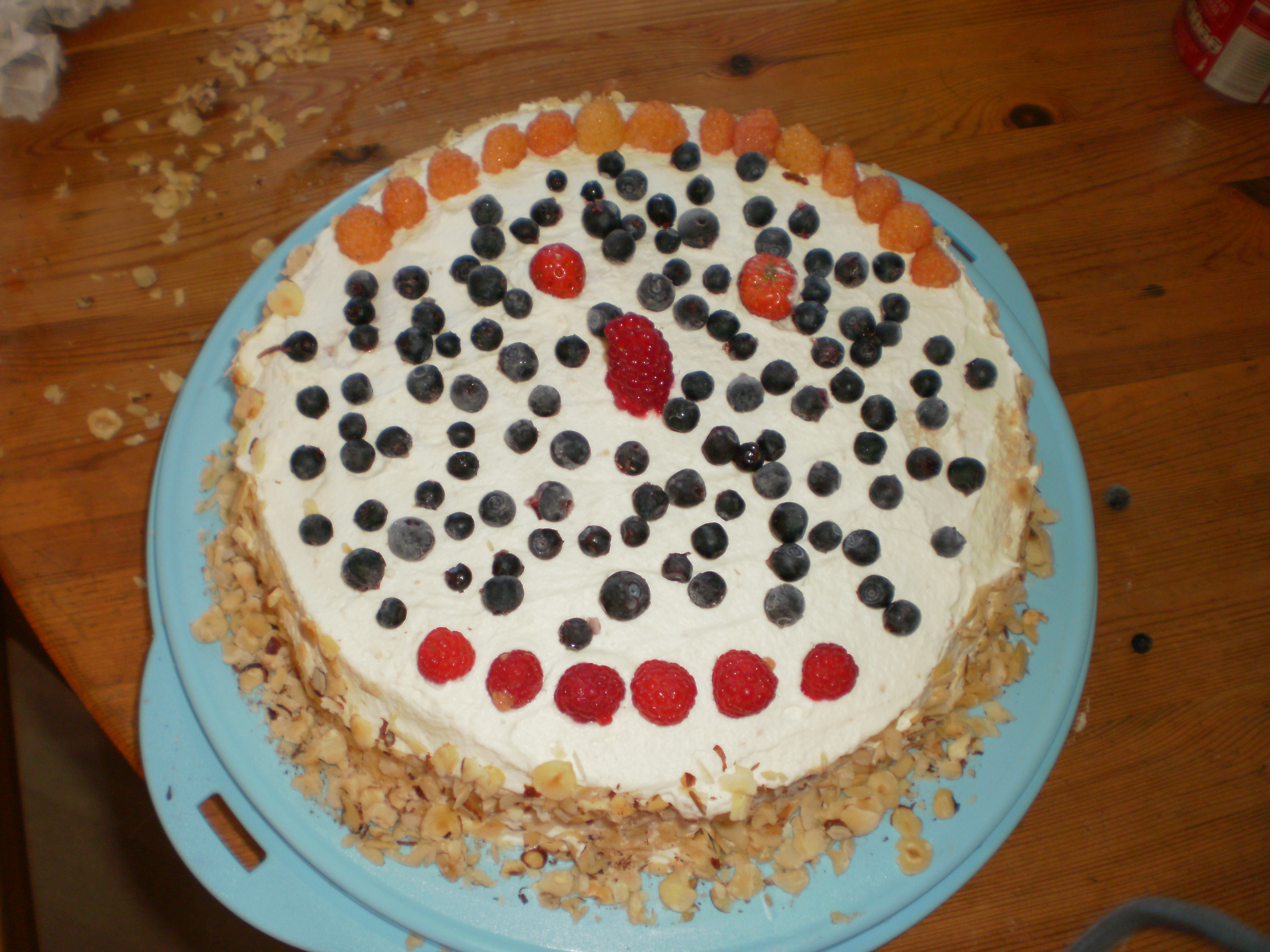 Tårta med färsk..