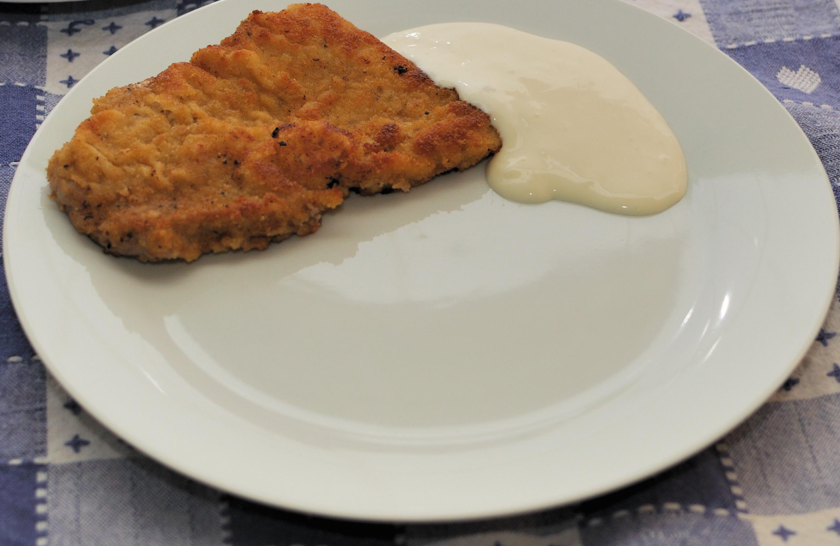 schnitzel sås