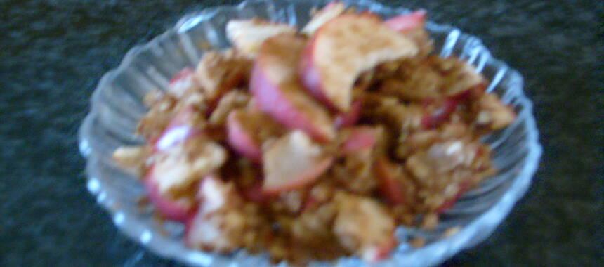 stekta äpplen nyttigt