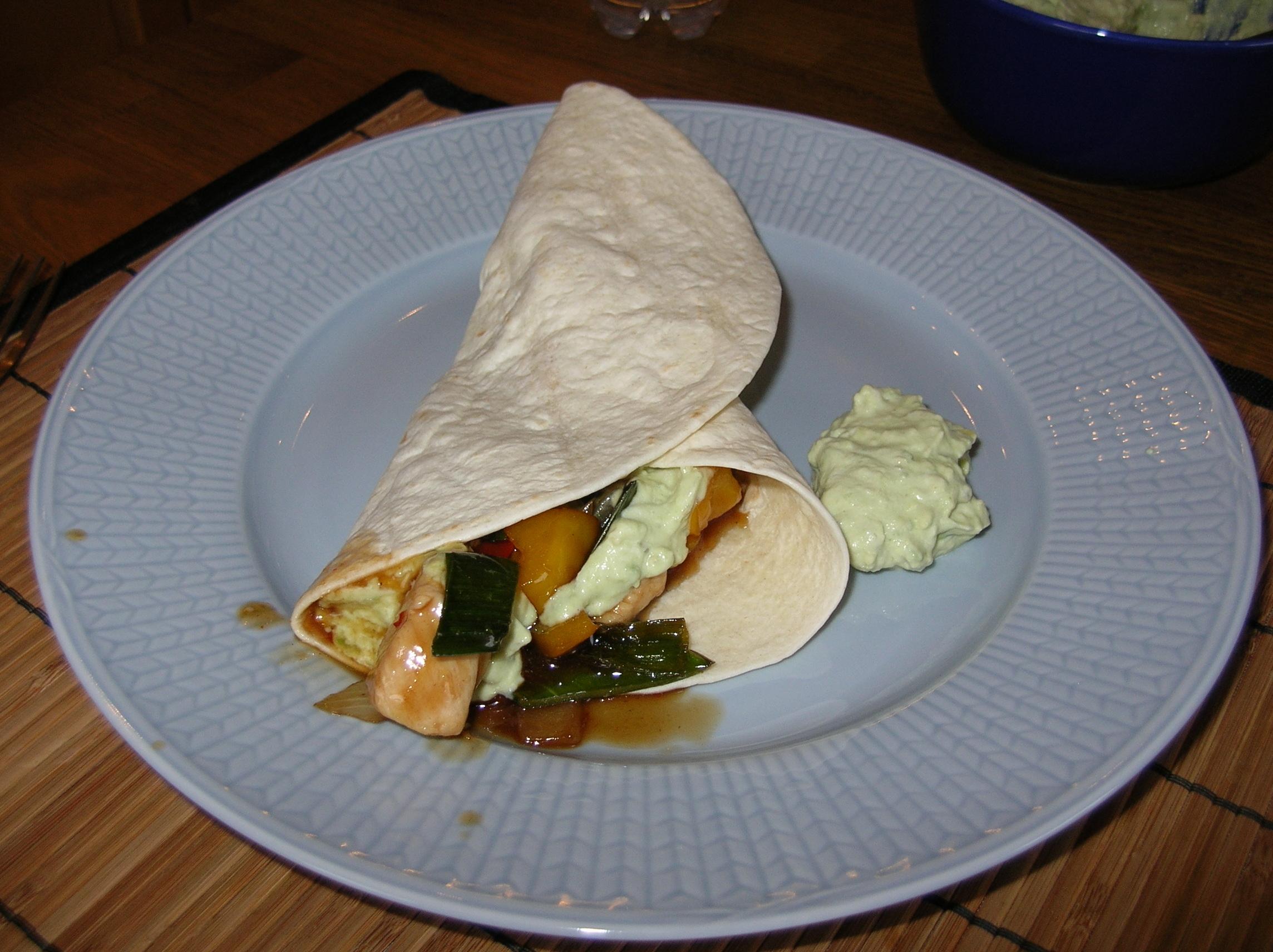 kyckling wok grönsaker ugn