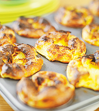 Pannkakor pösiga i muffinsform