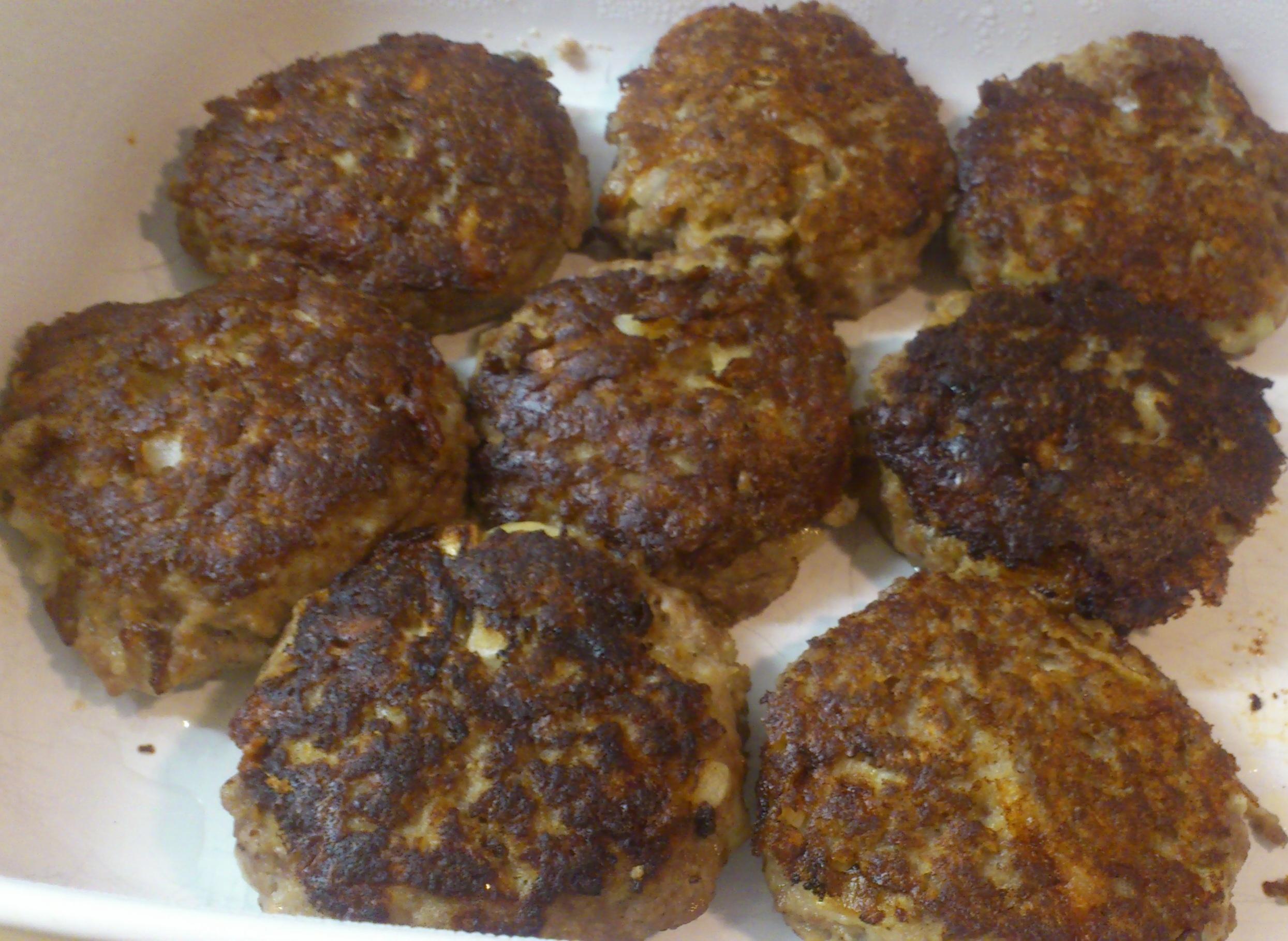 Pannbiff med gorgonzola