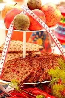åländskt brännvinsbröd med gojibär