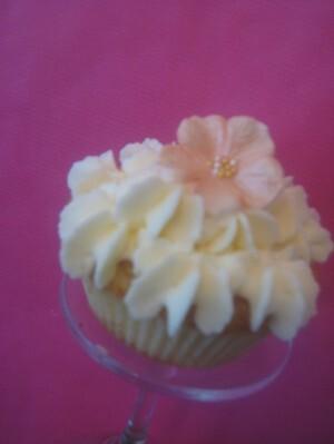 Persika cupcake..