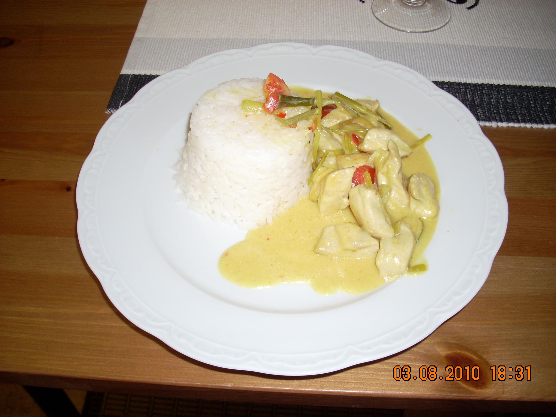 kycklingfilégryta med sweet chilisås och kokosmjölk