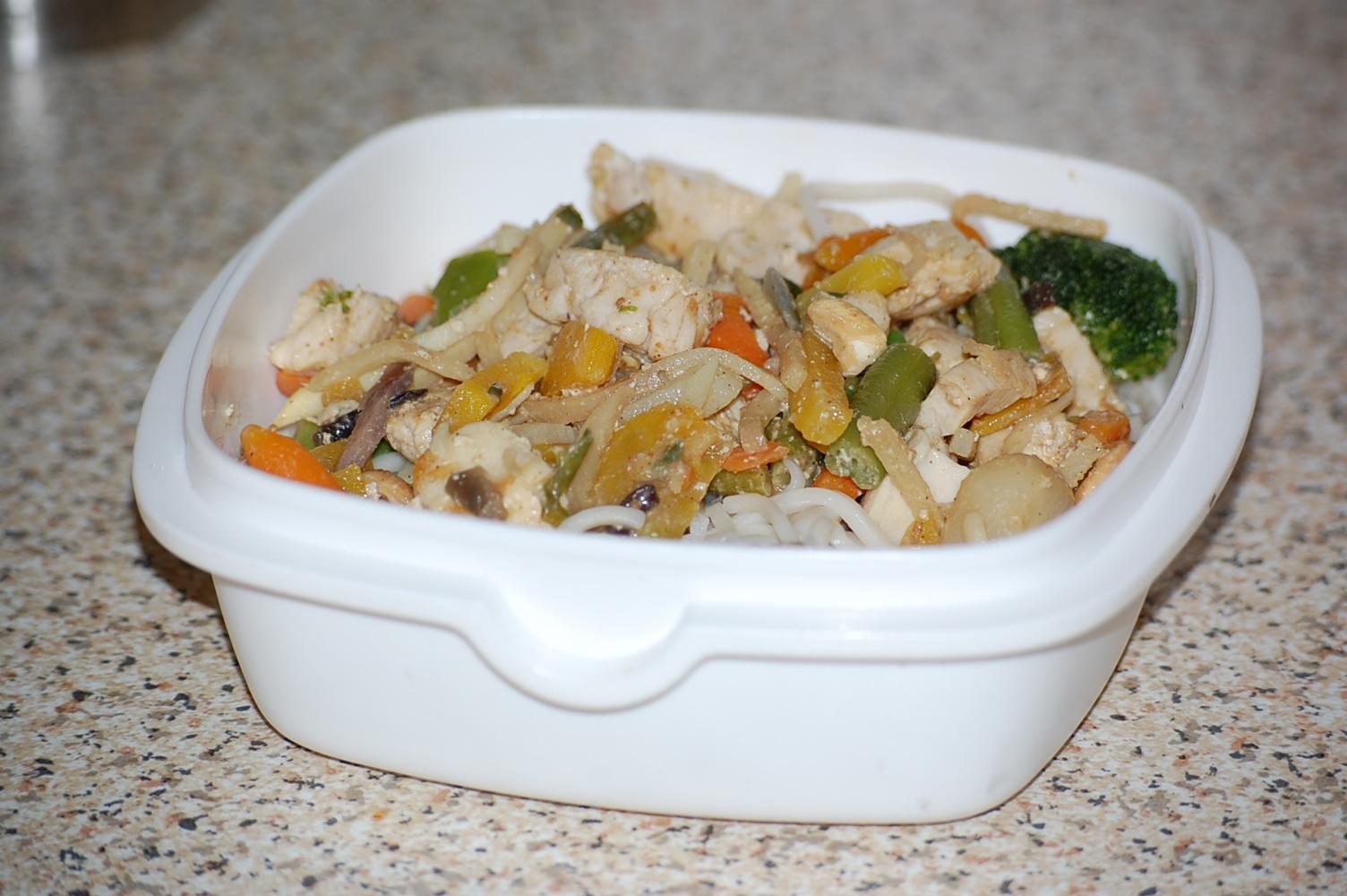 Min godaste wok