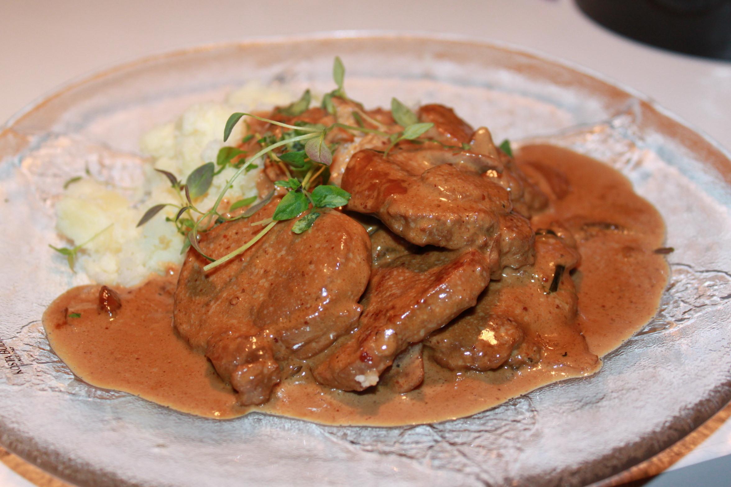 köttbulle sallad