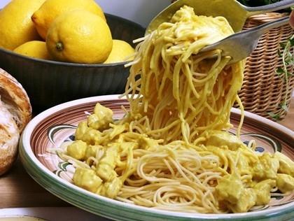 Pollo Limonello - Kyckling i krämig citronsås
