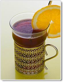 lingondricka med citron