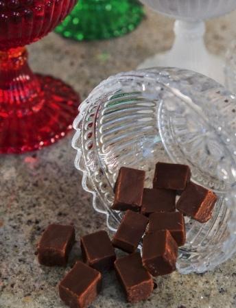 Mörk chokladfud..
