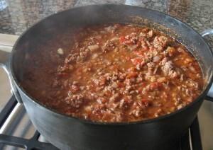 Chili con carne..