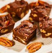 Amerikansk chokladfudge