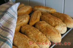 Korvbröd med fullkorn