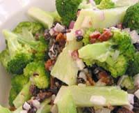 Broccoli & baconsallad