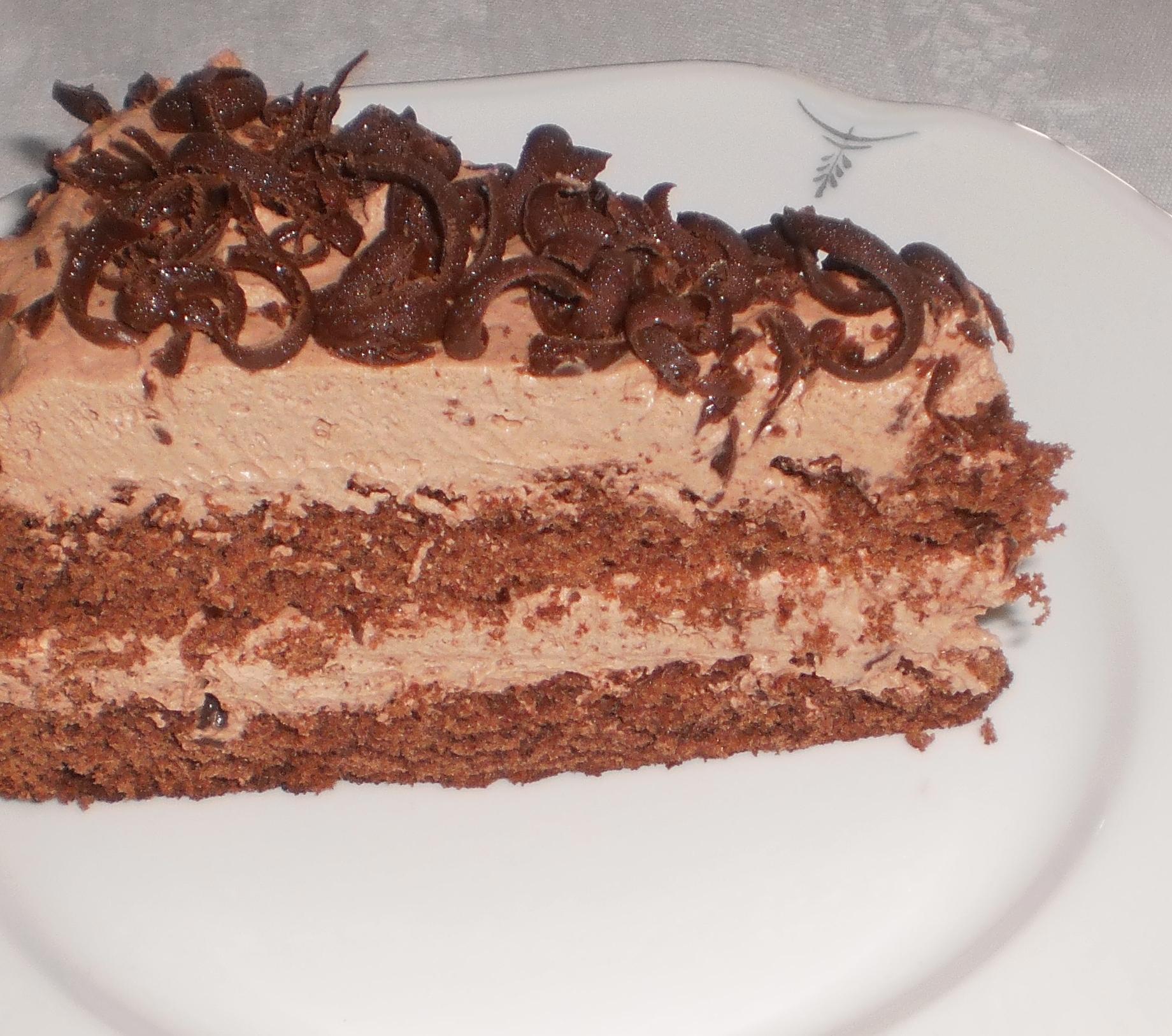 enklaste chokladkrämen till tårtor